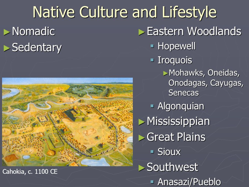 Native Culture and Lifestyle