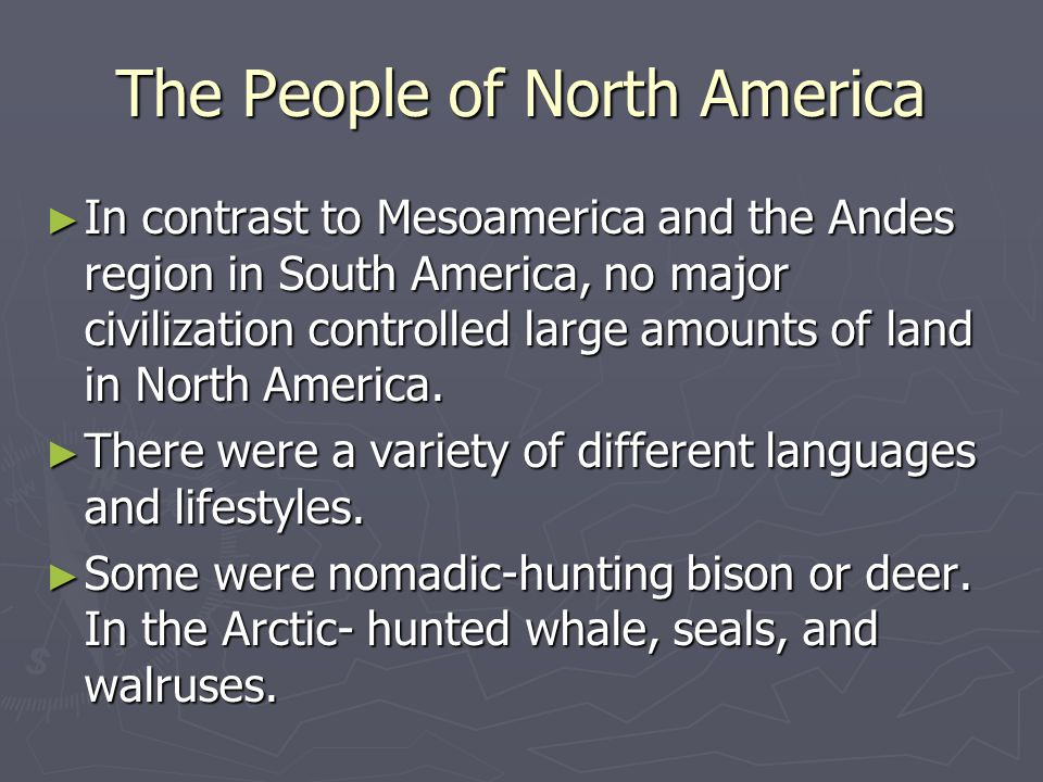 The People of North America