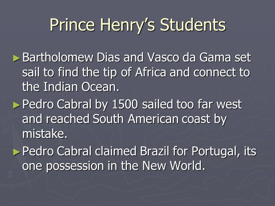 Prince Henry's Students