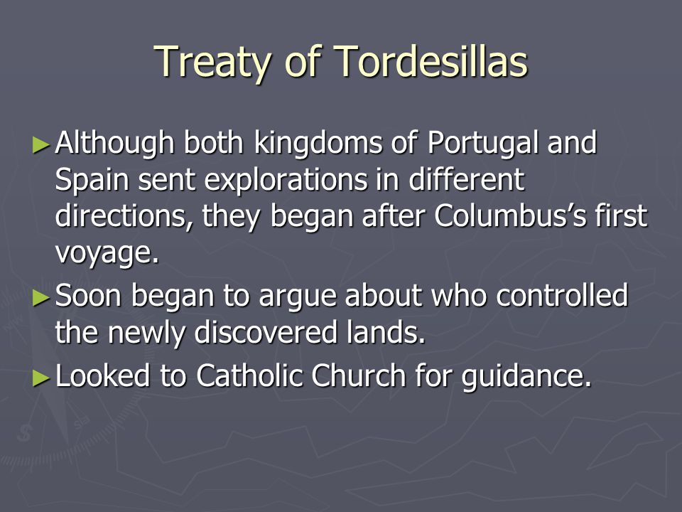 Treaty of Tordesillas