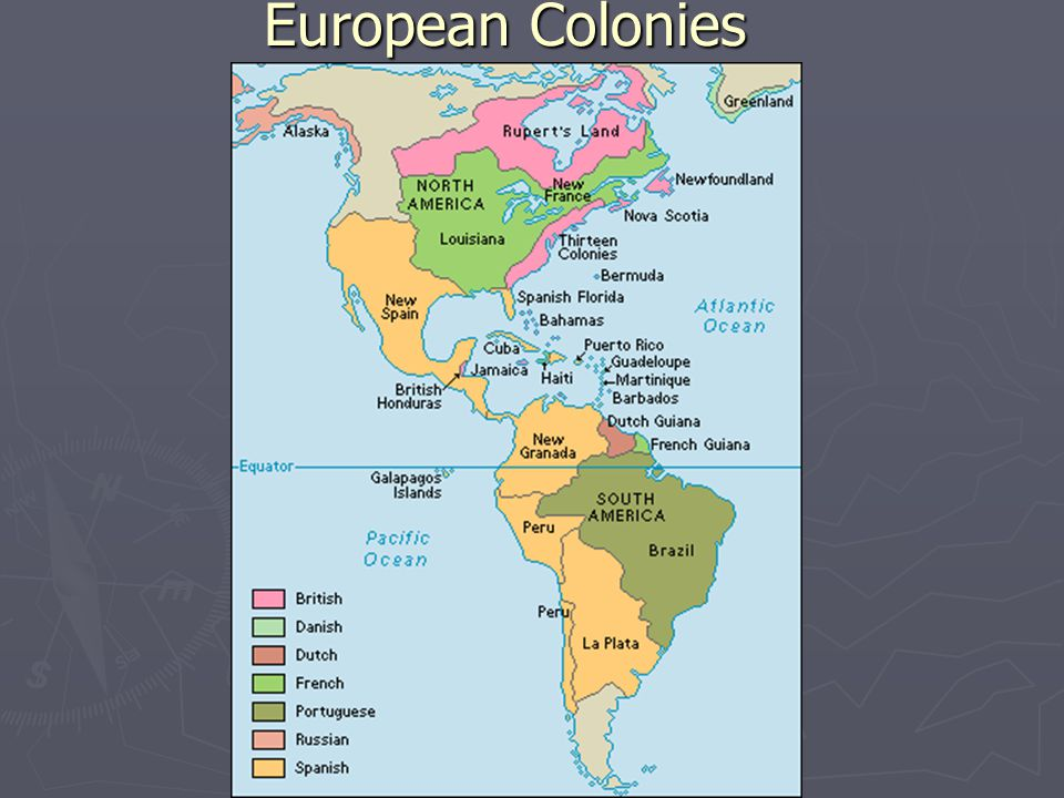 European Colonies