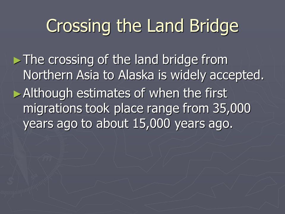 Crossing the Land Bridge