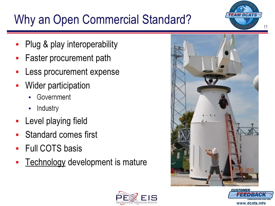 Why an Open Commercial Standard