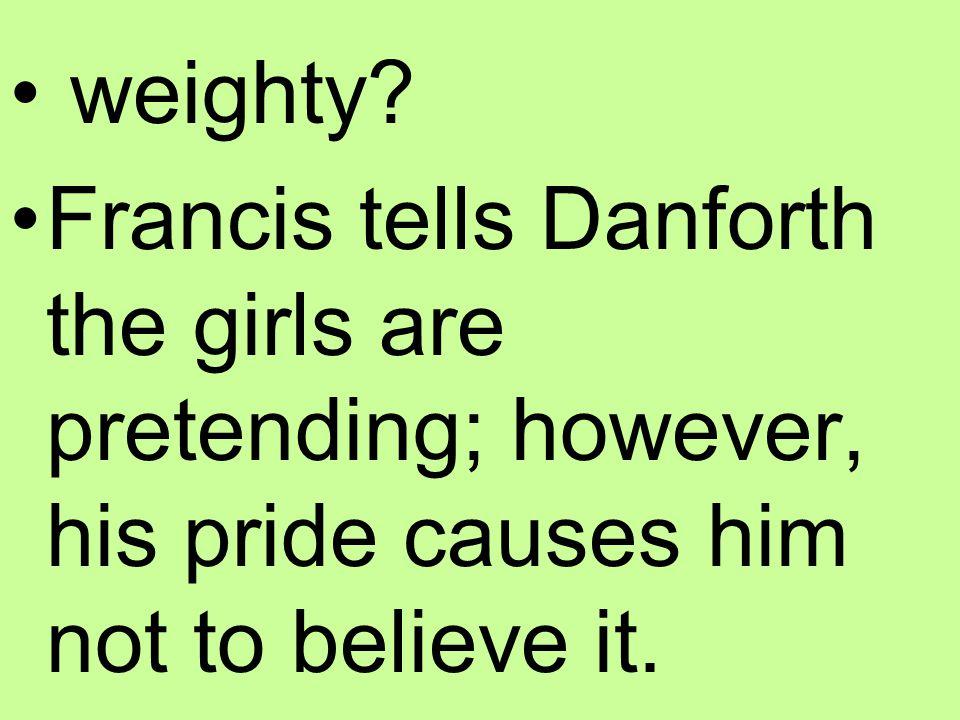 weighty.
