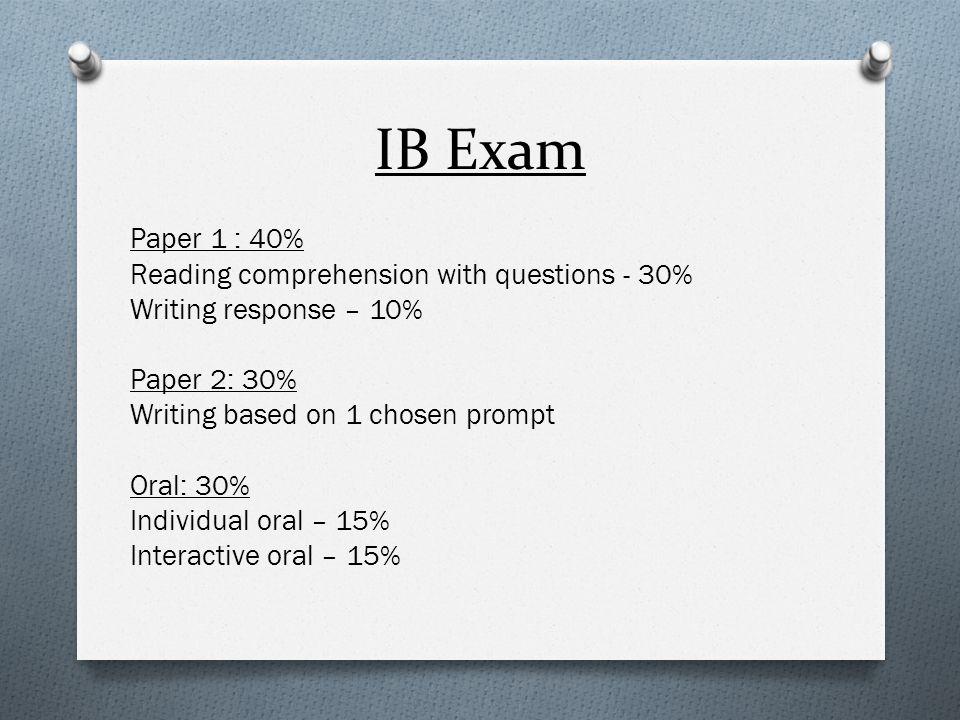 IB Exam