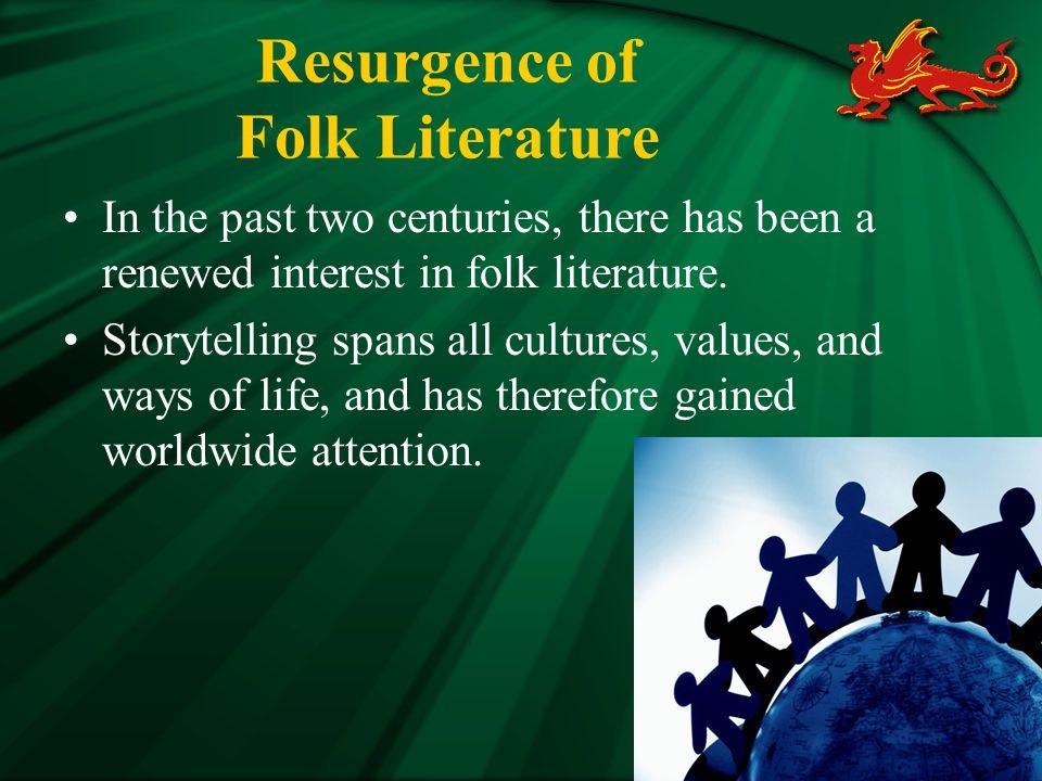 Resurgence of Folk Literature