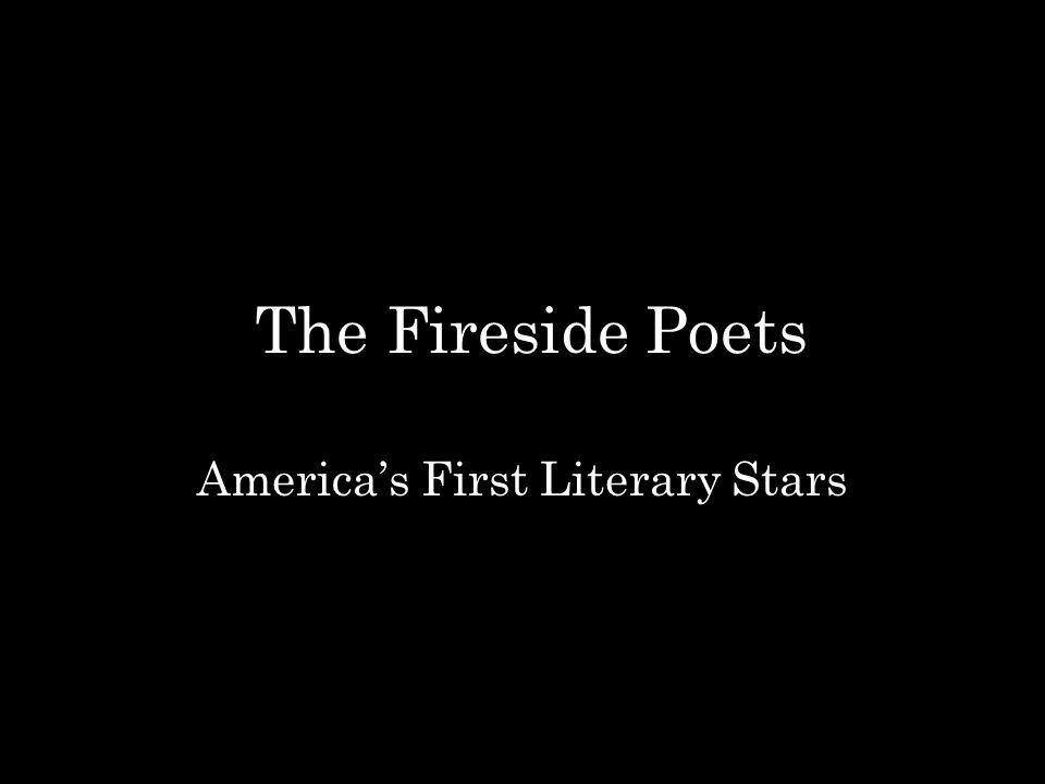 America's First Literary Stars