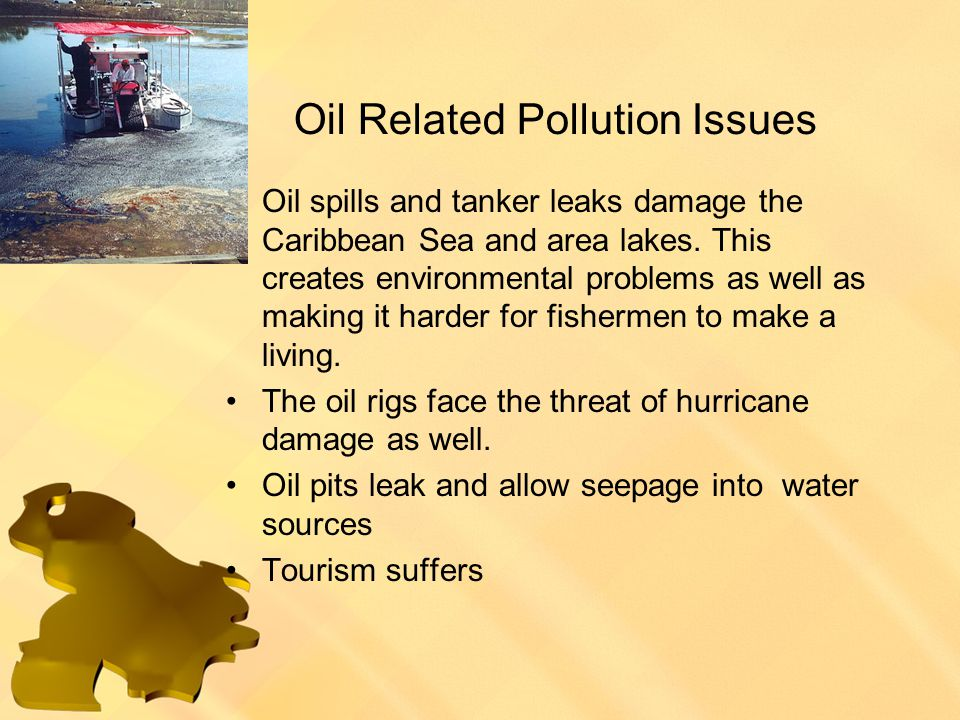 Oil Related Pollution Issues