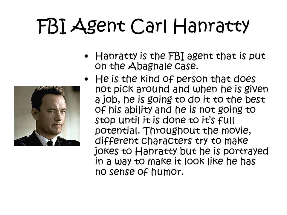 FBI Agent Carl Hanratty