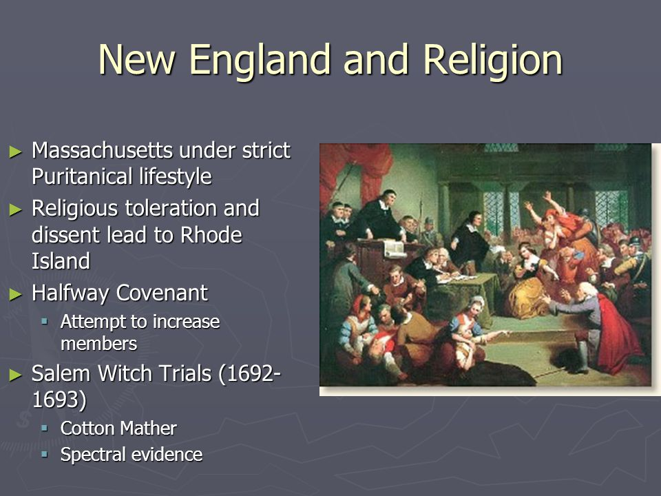 New England and Religion