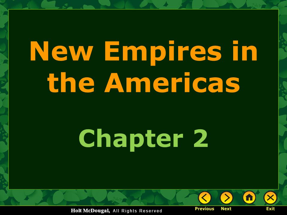 New Empires in the Americas