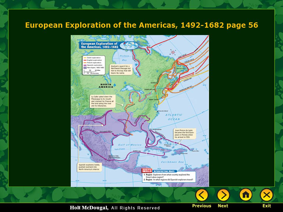 European Exploration of the Americas, 1492-1682 page 56