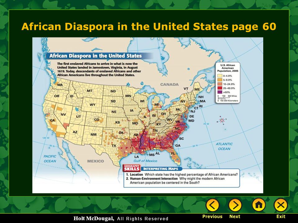 African Diaspora in the United States page 60