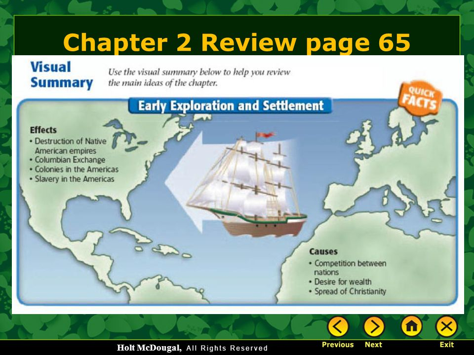 Chapter 2 Review page 65