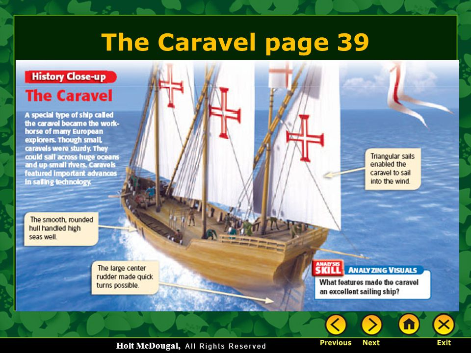 The Caravel page 39