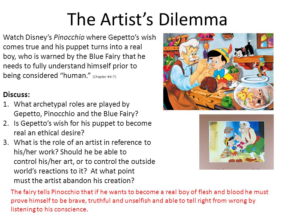 The Artist's Dilemma