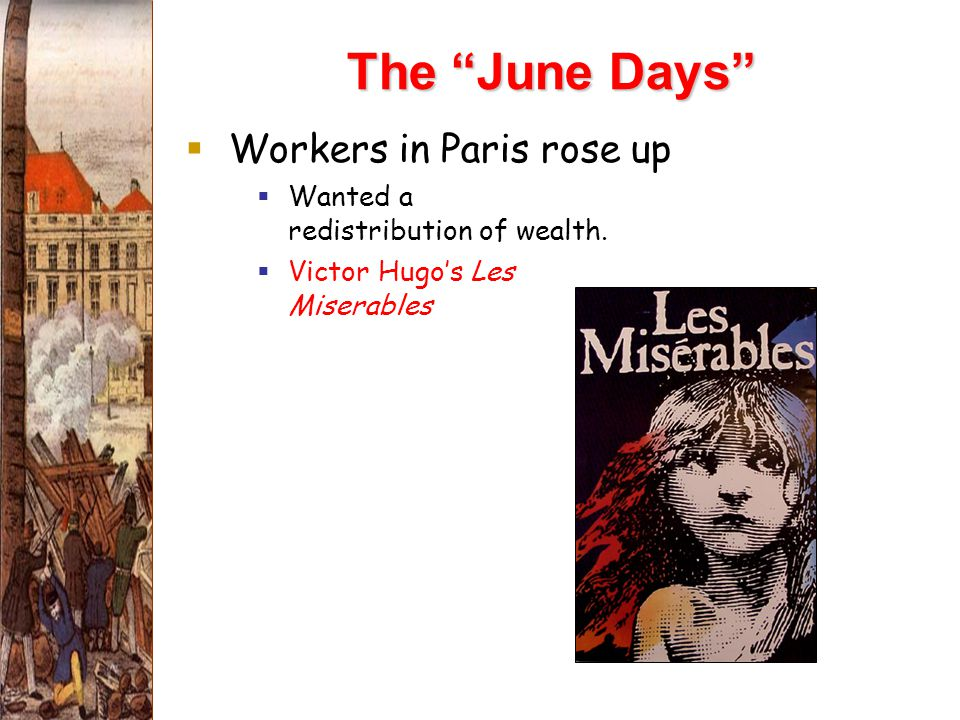 The June Days Workers in Paris rose up