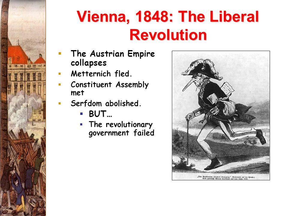 Vienna, 1848: The Liberal Revolution