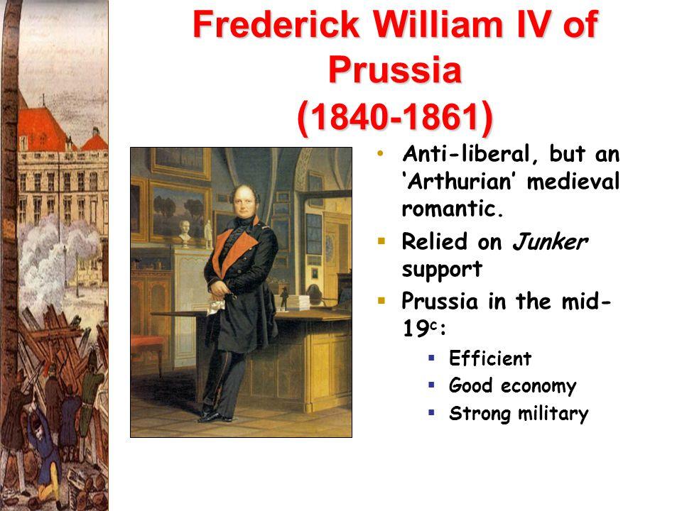 Frederick William IV of Prussia (1840-1861)