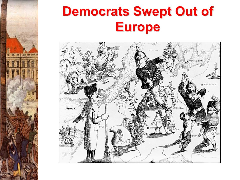 Democrats Swept Out of Europe