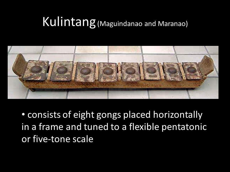 Kulintang (Maguindanao and Maranao)