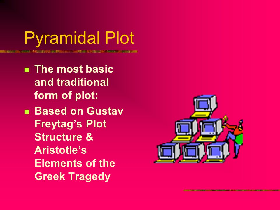 Pyramidal Plot The most basic and traditional form of plot: