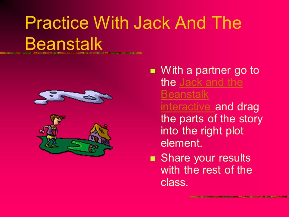 Practice With Jack And The Beanstalk