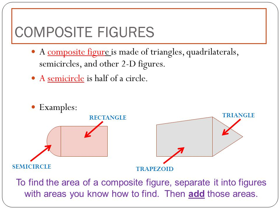 IXL Area of compound figures with triangles semicircles 5100868 ...