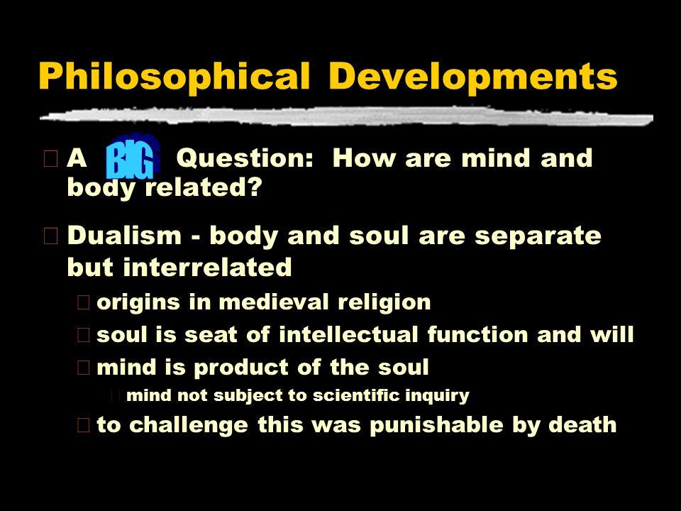 Philosophical Developments