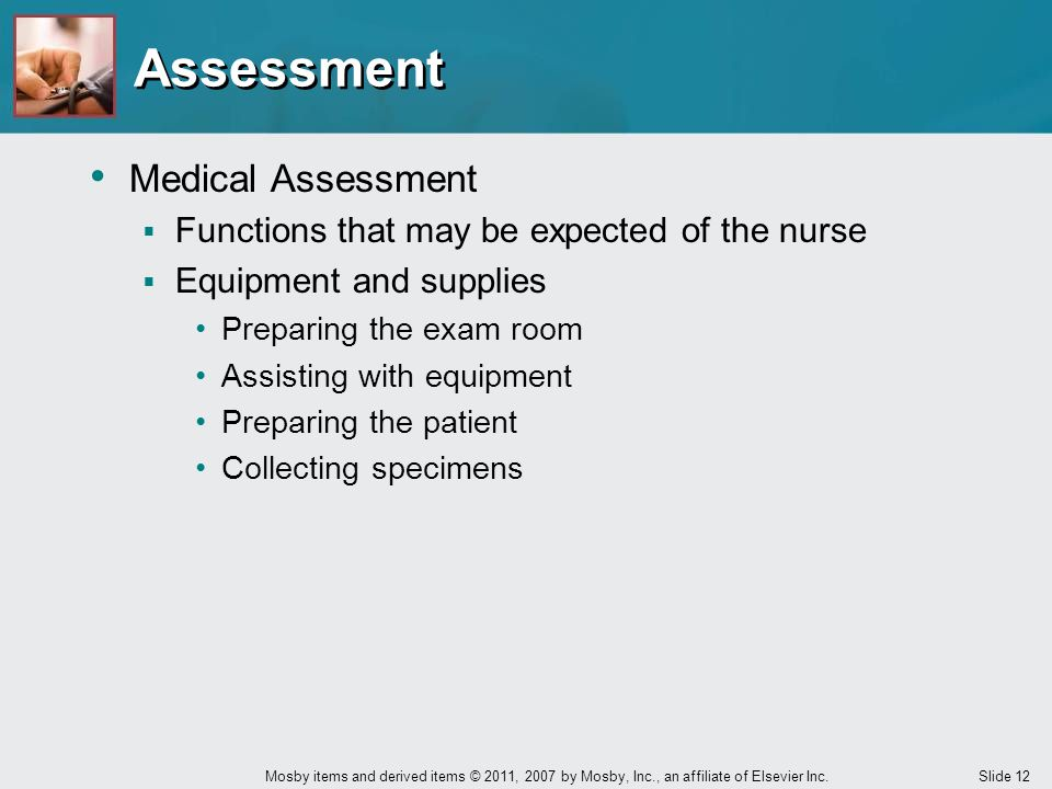 Assessment Medical Assessment