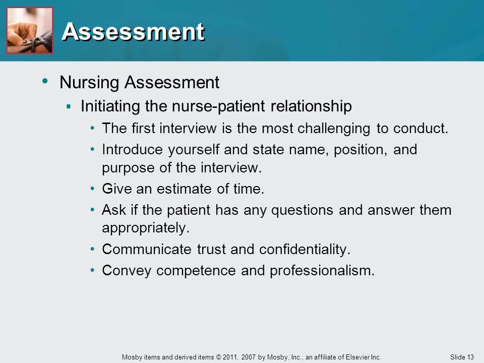 Assessment Nursing Assessment