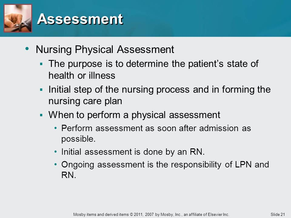 Assessment Nursing Physical Assessment