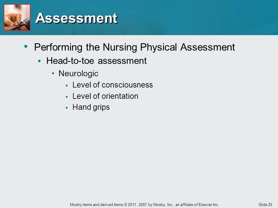 Assessment Performing the Nursing Physical Assessment
