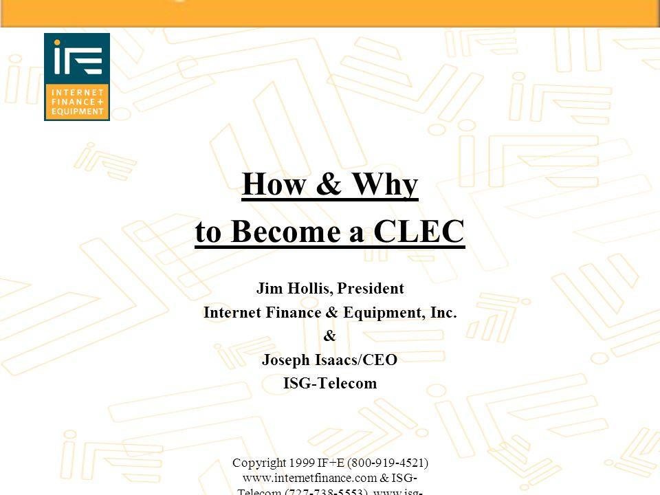 Internet Finance & Equipment, Inc.