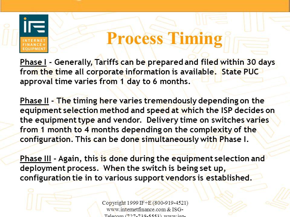 Process Timing