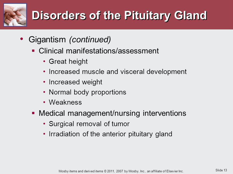 Disorders of the Pituitary Gland
