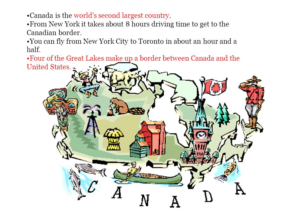 Canada is the world s second largest country.