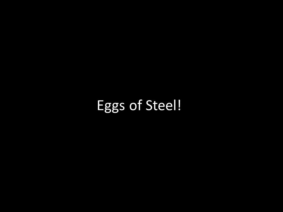 Eggs of Steel!