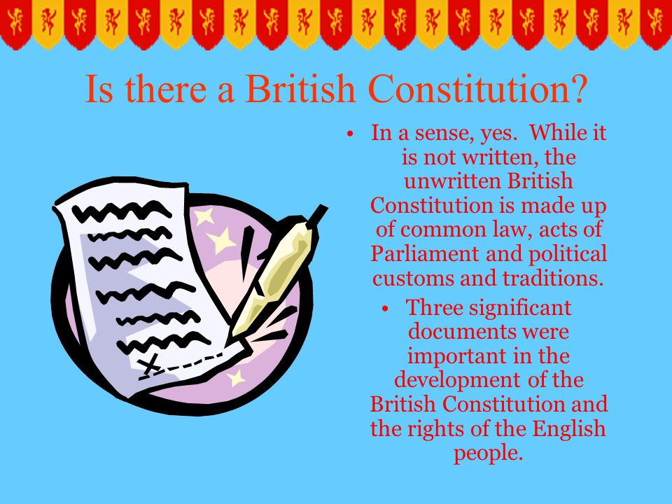 Is there a British Constitution
