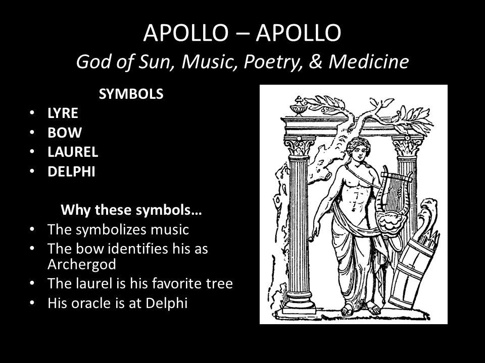 APOLLO – APOLLO God of Sun, Music, Poetry, & Medicine