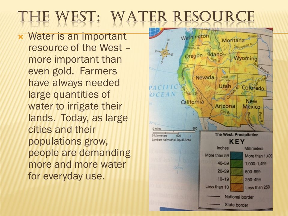 The West: Water Resource