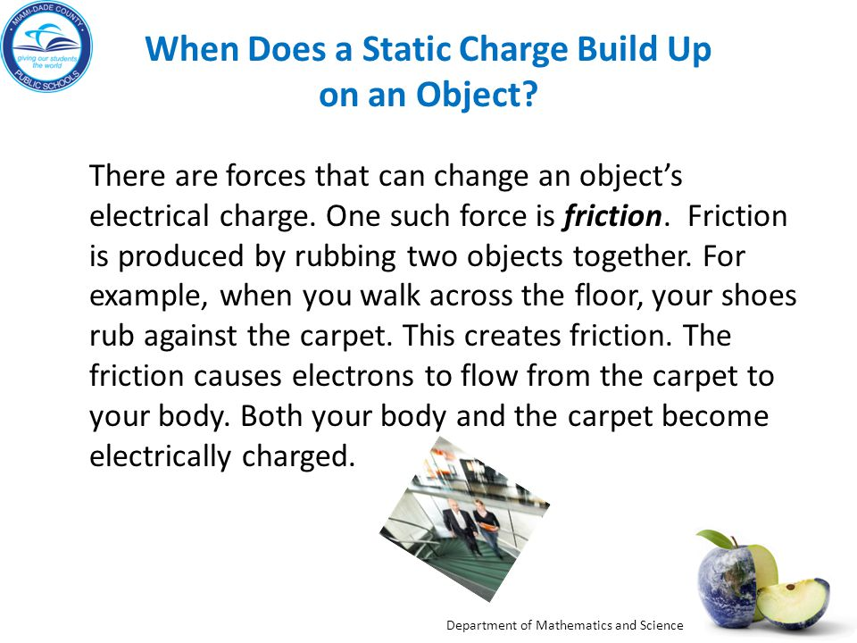 When Does a Static Charge Build Up on an Object