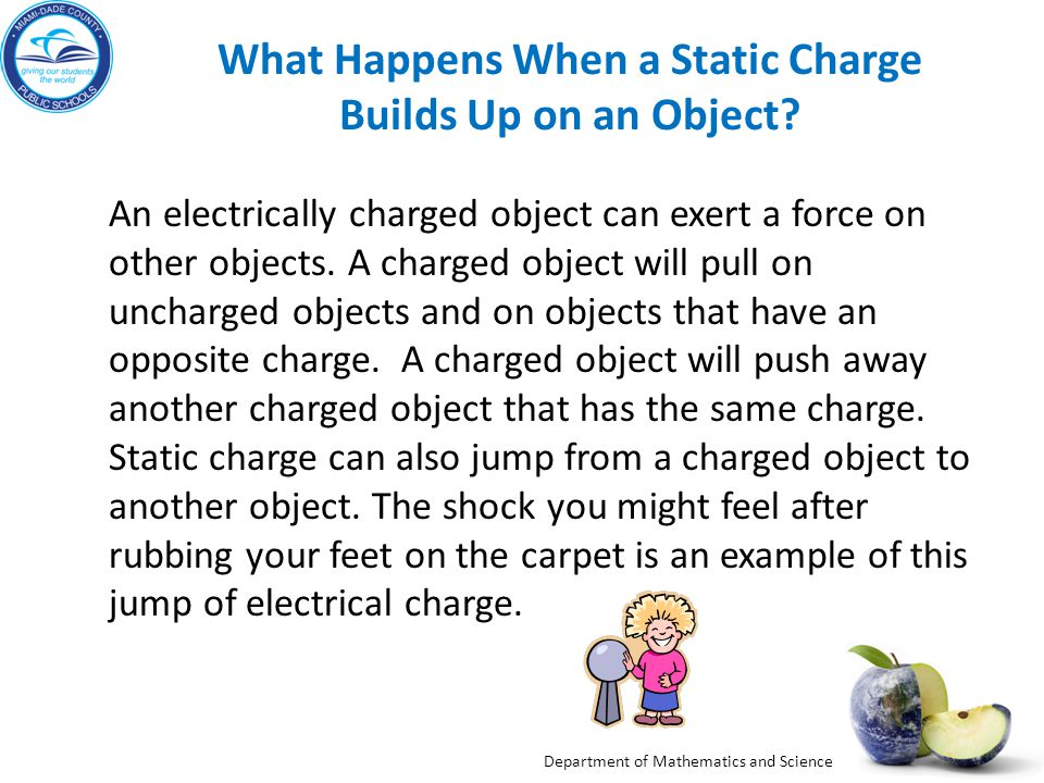 What Happens When a Static Charge Builds Up on an Object