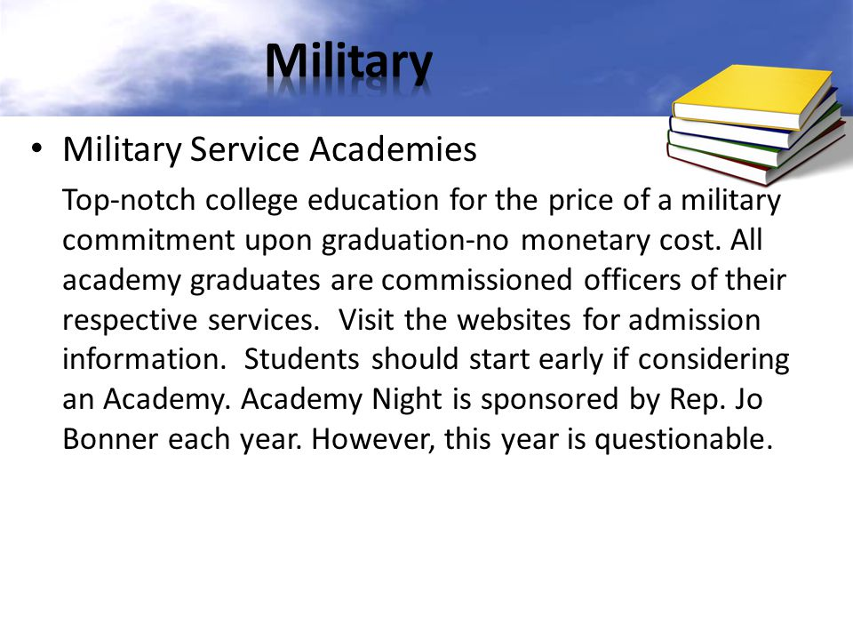 Military Military Service Academies
