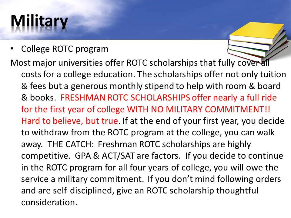 Military College ROTC program