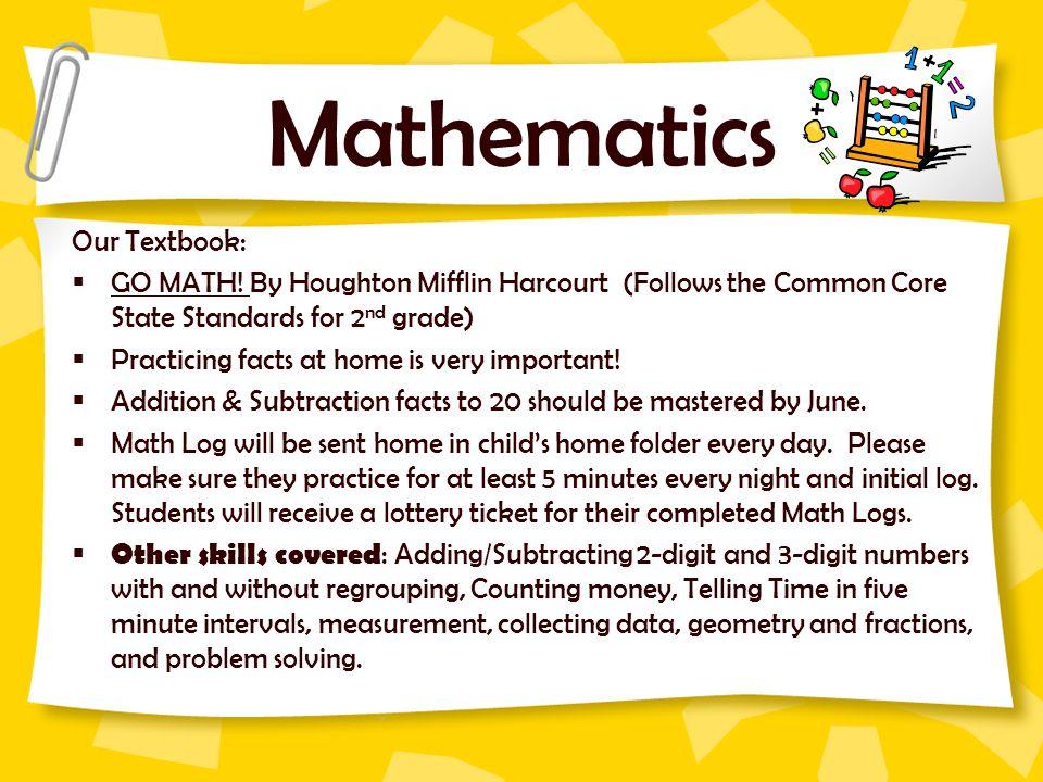 Mathematics Our Textbook: