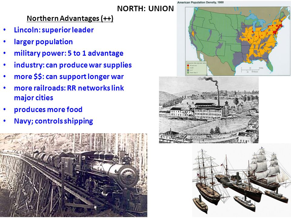 Northern Advantages (++)