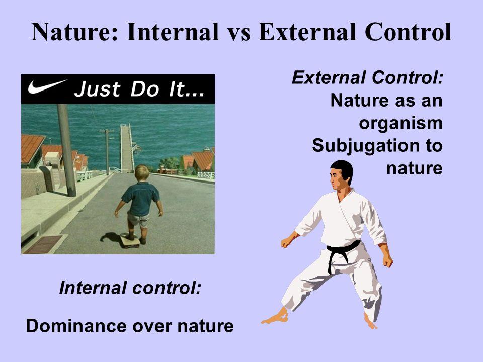 Nature: Internal vs External Control