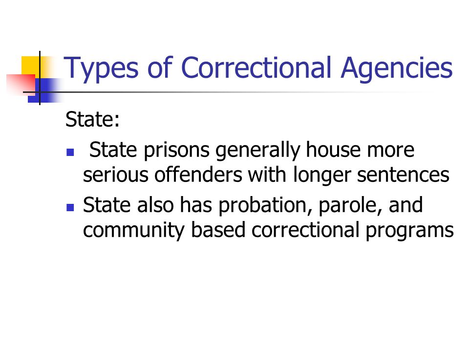 history of the federal parole system Diversity of existing state probation systems  in all except 14 states3 a federal  probation system was not established  we consider it demonstrated by the  history of probation that the.