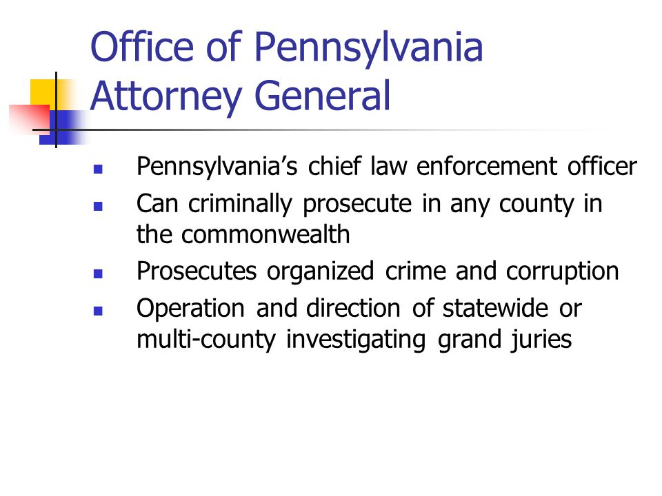 Office of Pennsylvania Attorney General
